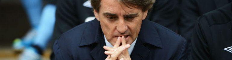 Roberto Mancini yang memiliki kesulitan dalam berbahasa inggris